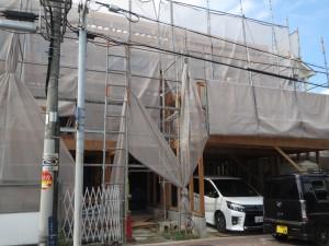 大阪府大阪市の木造住宅の現場です。