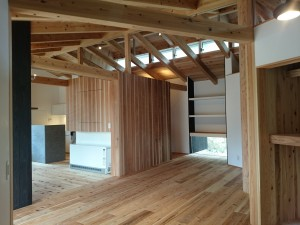 兵庫県芦屋市の木造の平屋住宅