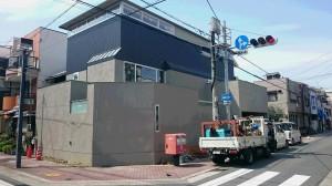 大阪市の木造住宅の新築工事現場