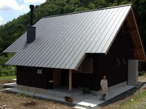 京都府美山で終の棲家が完成